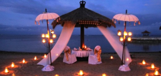 Most amazing and romantic dinner idea