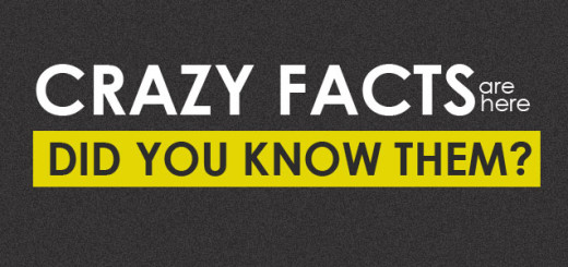 Crazy facts...Did you know them?