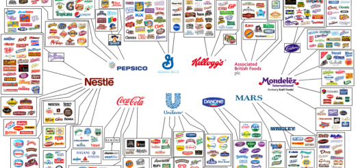 10 Companies that control almost everything we eat
