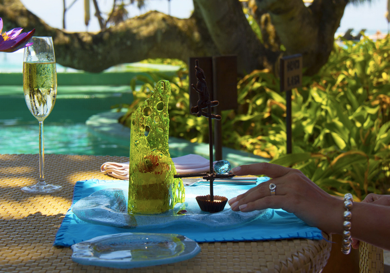 most expensive foods - The Fortress Resort & Spa, Sri Lanka — $14,500 Fortress Stilt Fisherman Indulgence Dessert