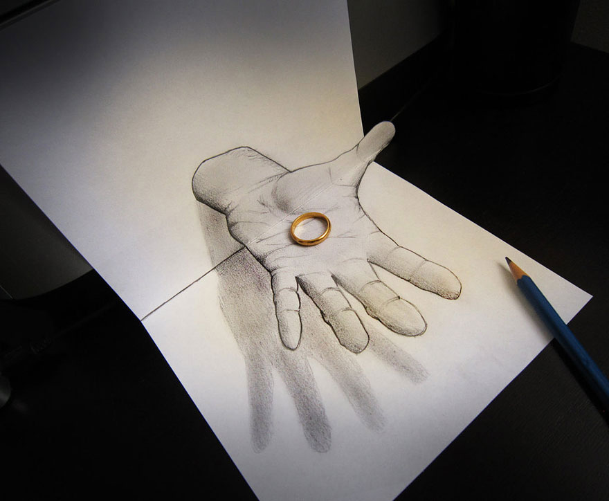 Amazing 3d pencil Drawings 16