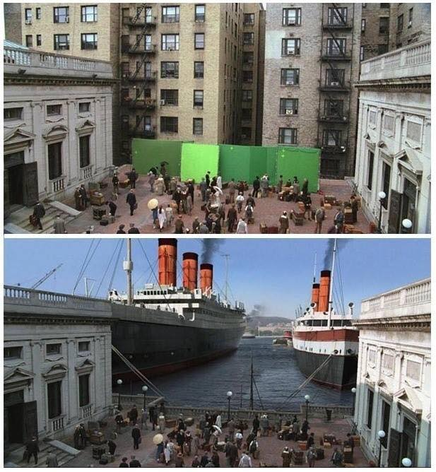 Behinde the scenes of some great movies - Titanic