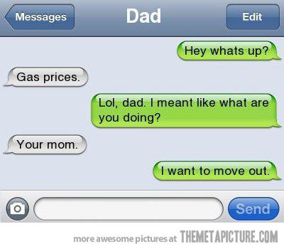 Hilarious texts from Dad - EpicFails (2)