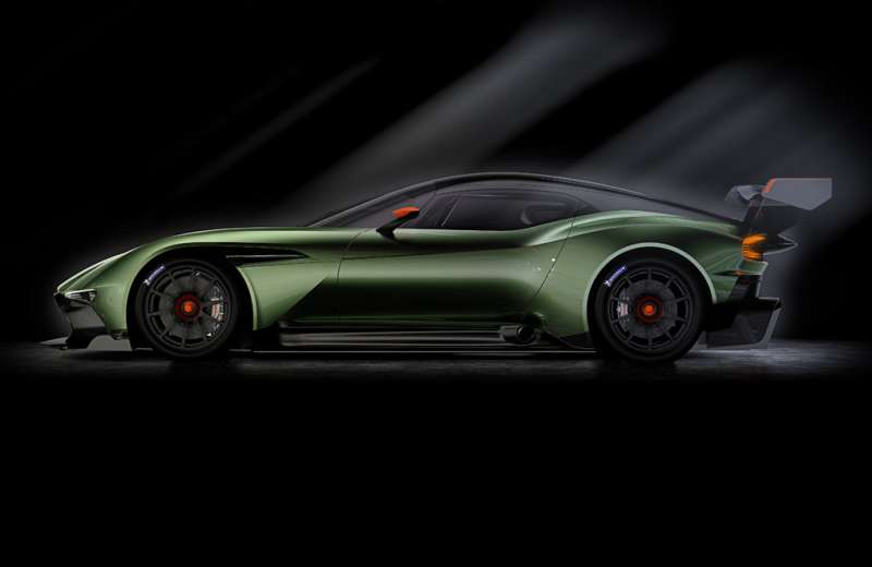 2.3 million vulcan hypercar from aston martin