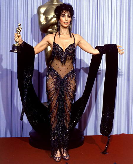 Cher_001, awful Oscar awards, most disgusting dresses at Oscar Awards