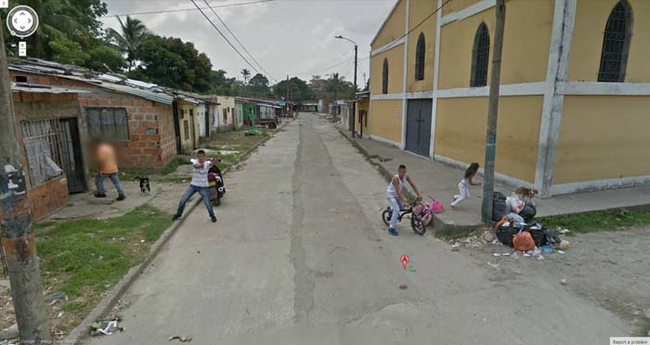 Hilarious Google Street View Moments