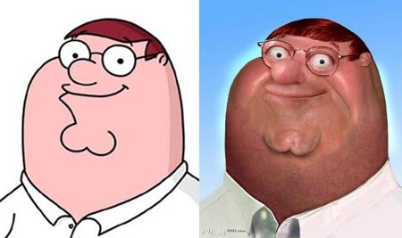 If Cartoons characters were made for Adults