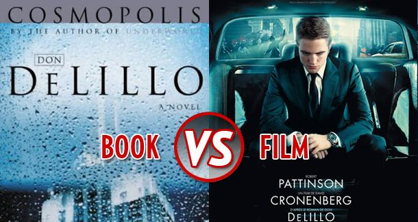 book vs film - cosmopolis