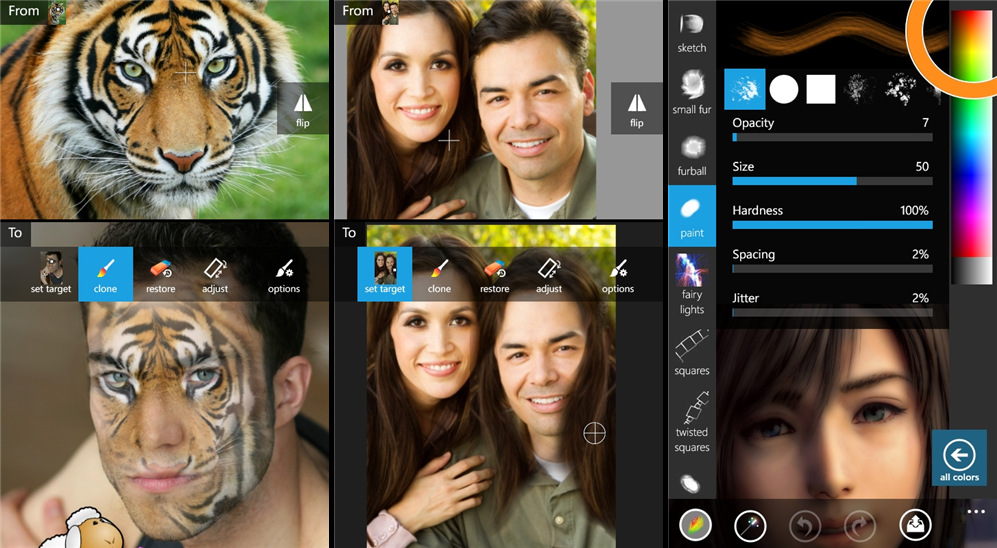 Best Windows apps for photographers - Fantasia painter free