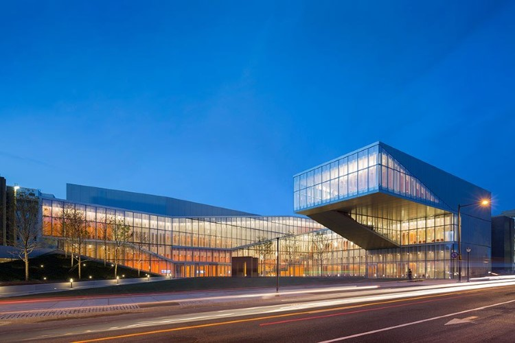 Most beautiful college buildings - The Krishna P. Singh Centre for Nanotechnology