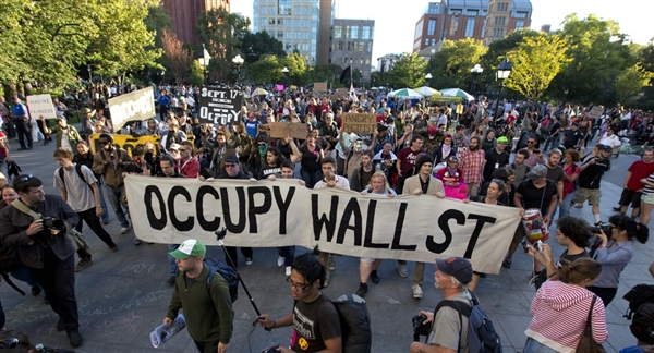 most momentous protests in history - Occupation of Wall Street