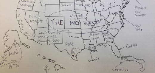 British Students Mark Map Of America (4)