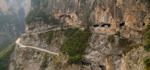 Most Dangerous Roads - Guoliang Tunnel Road, China