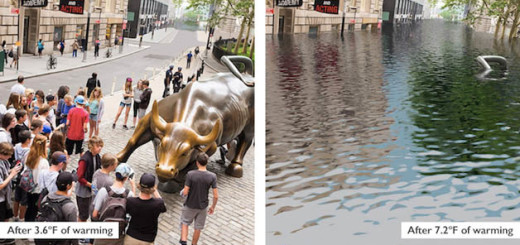 effects of global warming - NYC, United States