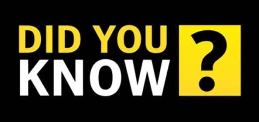 did you know, facts, must know, interesting, tricky facts, tricks, interesting ideas, you must know