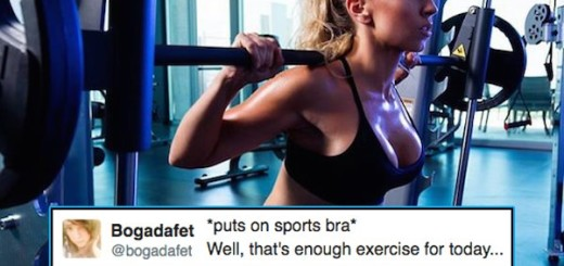 Funny tweets on Gym