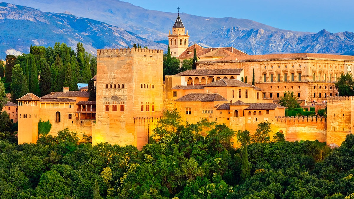 Most Underrated cities in spain - Granada - Palace of Alhambra