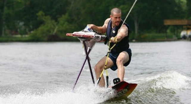 Unusual Sports - Extreme Ironing