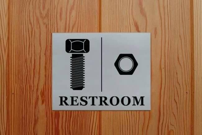 Funny Toilet Signs