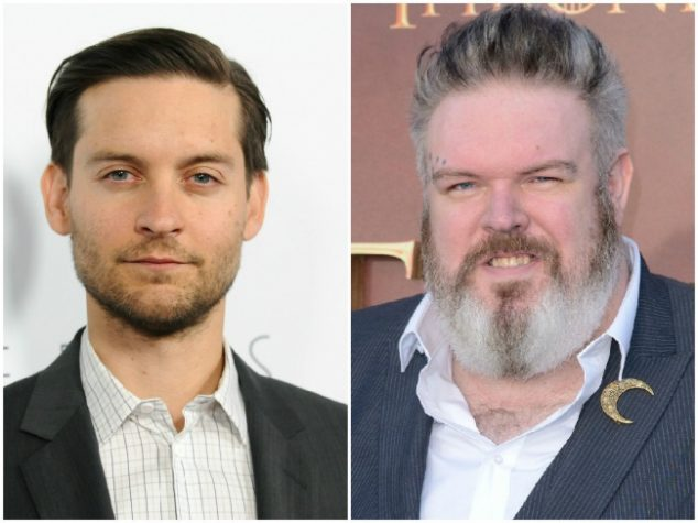 Tobey Maguire and Kristian Nairn — 41 years old