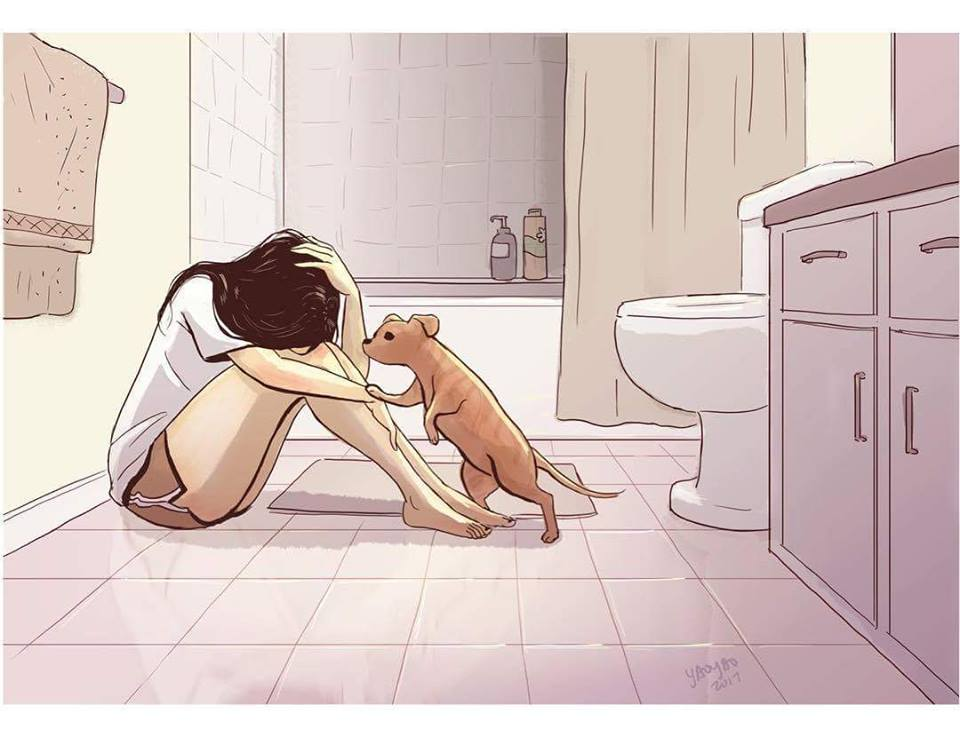 Illustrations On Living With A Dog