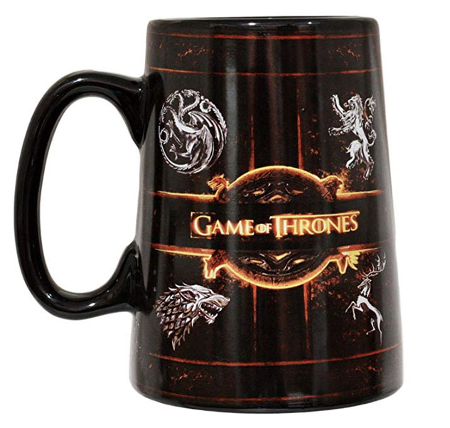 Game of thrones mugs collection